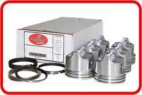 "Perfect Circle TC2840 Engine Pistons Set .040/"" Size 6 1953 Chevy 236 L6"