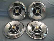 "1957 DODGE LANCER KNIGHT HEAD HUB  CAPS -14""- NEW SET OF 4"