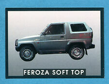 AUTO - Stickline - Figurina-Sticker n. 177 - DAIHATSU FEROZA SOFT TOP -New