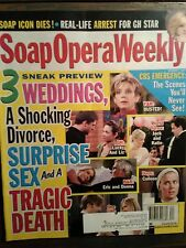 LOT OF 5 SOAP OPERA WEEKLY'S OCTOBER 2007