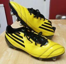 Mens Adidas F50 Adizero Yellow Football Boots Moulded Studs Size UK 8