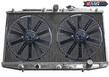 2Row Aluminum Radiator For 1998-2002 Honda Accord SIR 2.3L L4 1999 2000 2001+Fan