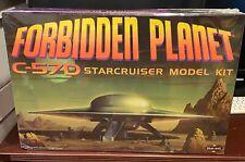 FORBIDDEN PLANET POLAR LIGHTS C57-D FLYING SAUCER MODEL KIT SEALED ! 1:72 Scale