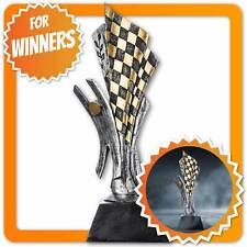 Motorsport Siegerpokal 26cm Rennsport Sieger Pokal Statue - XXL Gokart Trophäe