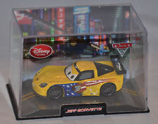 NEW! Disney Store PIXAR Cars 2 Jeff Gorvette Diecast Car (W/Case) Corvette