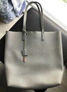 Yves Saint Laurent YSL Shopper Grau Luxus