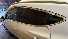 For HYUNDAI IX35 TUCSON 2010 - 2015 S- Steel Full WINDOW Molding chrome Trim