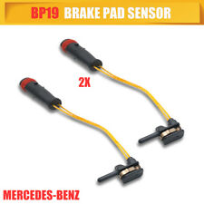 2X Front Rear Brake Pad Wear Wire Indicator Sensor BP19x2 For Mercedes-Benz
