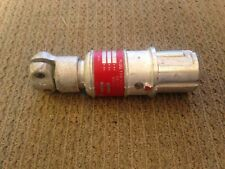CROUSE-HINDS CPP-316 20A 125/250V EXPLOSION PROOF MALE PLUG - DELAYED ACTION