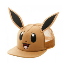 Pokemon Eevee Big Face with Ears Snapback Trucker Hat