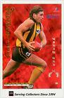 1995 Bewick AFL 4 Quarters Cards Series 2 YOUNG GUN #2--SHANE CRAWFORD ( HAWKS)