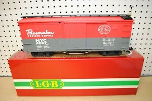 LGB 4067 F01 NYC New York Central Pacemaker Box Car *G-Scale*