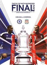 Liverpool Away Team Football FA Cup Fixture Programmes (2000s)