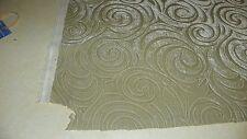 Celadon Green Swirl Print Velvet Upholstery Fabric 1 Yard  R558