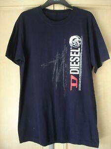Diesel Navy T-Shirt XL