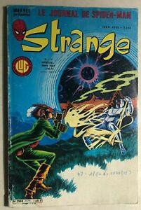 STRANGE #171 French color Marvel comic (1984) Iron Man Spidey Miller DD SubM VG+