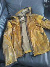 Stone Island Prismatic silk/PU jacket size medium