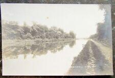 BLACKWELLS MILLS N.J. RIVER VIEW RPPC ANTIQUE REAL PHOTO POSTCARD
