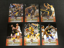 Magic Johnson 2017 Leaf Career Achievments Best of Basketball Insert Set (1-6)