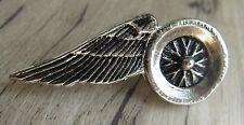 Pin Moto/Piedini: wings on Wheel-Biker-MOTORCYCLE - 4,2 cm maiuscole culto!