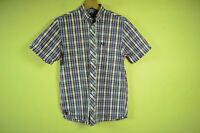 FRED PERRY _ MEN'S SUMMER HOLIDAY CHECKED SHIRT SHORT SLEEVE MULTICOLOR _ S