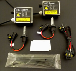 HID Xenon Light Conversion Kit 10000k for H1 H3 H6 H7 H11 H13  ballast