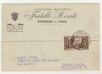 STORIA POSTALE - 1933 REGNO C.30 SU CARTOLINA E/2020