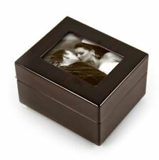 Sleek And Modern 4.5 X 3.5 Photo Frame Musical Jewelry Box - Over 400 Songs