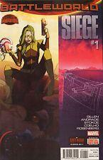 SIEGE #1 - REGULAR COVER - MARVEL COMICS - 2015