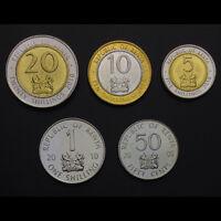 Kenya Single Coin Original KM#36.2 20 Shillings UNC 2010