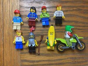 Lego City Minifigure Bundle #11   8 Figures Free p&p Used