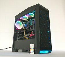Gaming PC RGB Desktop Computer Intel i5 3.10GHz,8GB,1T,Win10,WIFI,GTX 1060 3GB