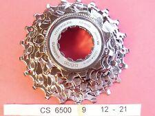 Shimano Ultegra 6500 - 9 Speed  12 / 21 cassette sprocket set - NOS L'eroica
