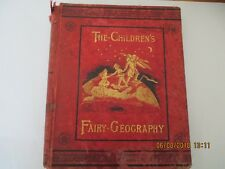 Antique Book, The Children's Fairy Geography, Forbes E. Winslow, 1879