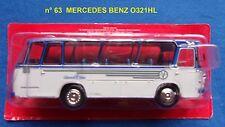 n° 63 MERCEDES BENZ O 321 HL  an1962 Autobus et Autocar du Monde 1/43 neuf boite