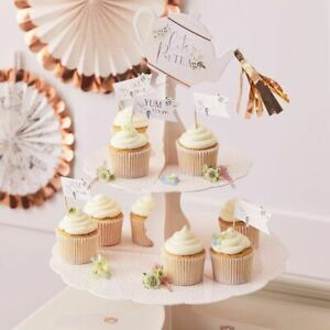 Rose Gold 2 Tiered Afternoon Tea Cake Stand Lets Partea Alice Tea Party