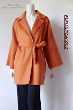 🔶 MAX MARA Coat mod.Ravello 12 USA_46 I_42 D_44 F_14 GB Cachmere 100% in Orange