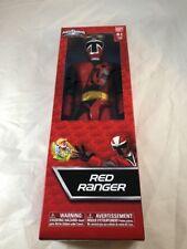Power Rangers RED RANGER Action Figure NINJA STEEL Bandai 12-inch New 2018