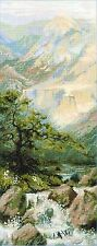 RIOLIS 1543 - MOUNTAIN RIVER - COUNTED  CROSS STITCH  KIT
