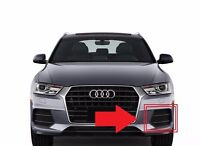 New Genuine AUDI Q3 16-17 Left N/S Front Lower Air Vent Grill Black 8U0807681P