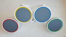 Nintendo Wii Rock Band Wired Drum Kit RockBand Drums Set RARE No Pedal Included