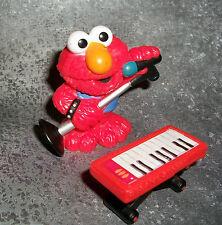 SESAME STREET ELMO HASBRO Toy PLAYSKOOL WORKSHOP with Keyboard & Microphone