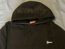 SUPREME HOODIE SIZE XL VINTAGE CIRCA EARLY 2000s (2003-2004 ish) BROWN