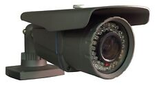 "Outdoor 1/3"" Sony CCD Bullet Camera 2.8~12mm 480 TVL, up to 130ft. Night Vision"