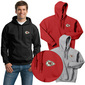 Kansas City Chiefs Hooded Sweat Shirts  Embroidered up to 5x