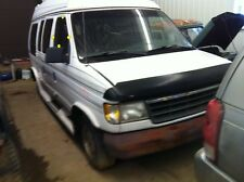 1992 FORD VAN E150 Passenger Right Front Door Glass Window Tinted Glass