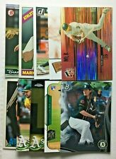 Oakland Athletics 20 Card Lot Jason Giambi Rickey Henderson Matt Olson A.J. Puk