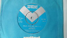 "EASYBEATS 7"" HELLO, HOW ARE YOU b/w FALLING OFF THE. UNITED ARTISTS 1968 UK"
