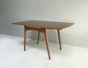 1960's vintage extending small dining table