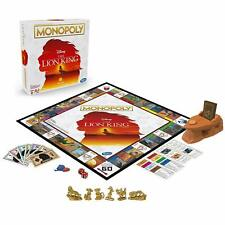 DISNEY MONOPOLY The Lion King Edition With Pride Rock Music *NEW*